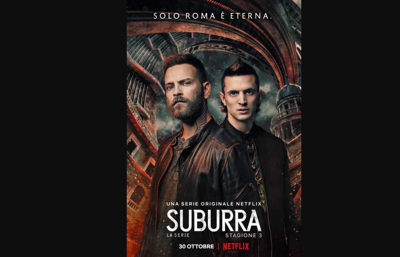 Suburra 3, tutto pronto per il capitolo finale: Solo Roma è eterna