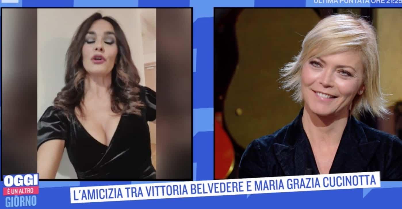 """Vittoria Belvedere commossa dal messaggio di Maria Grazia Cucinotta: """"Che fortuna incontrarla"""" (Foto)"""