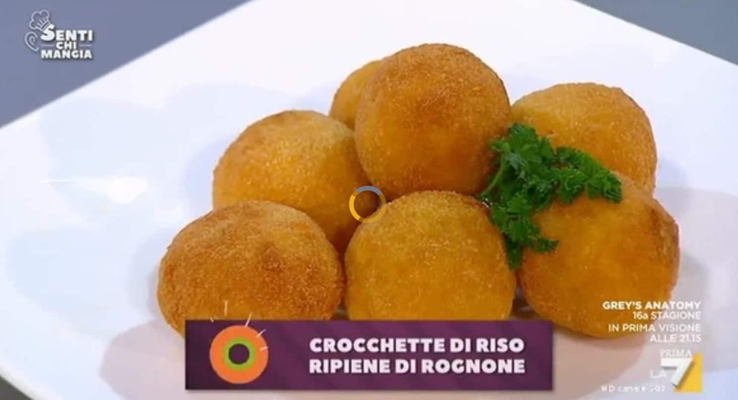 Crocchette di riso ripiene di rognone o mozzarella: una ricetta di Benedetta Parodi