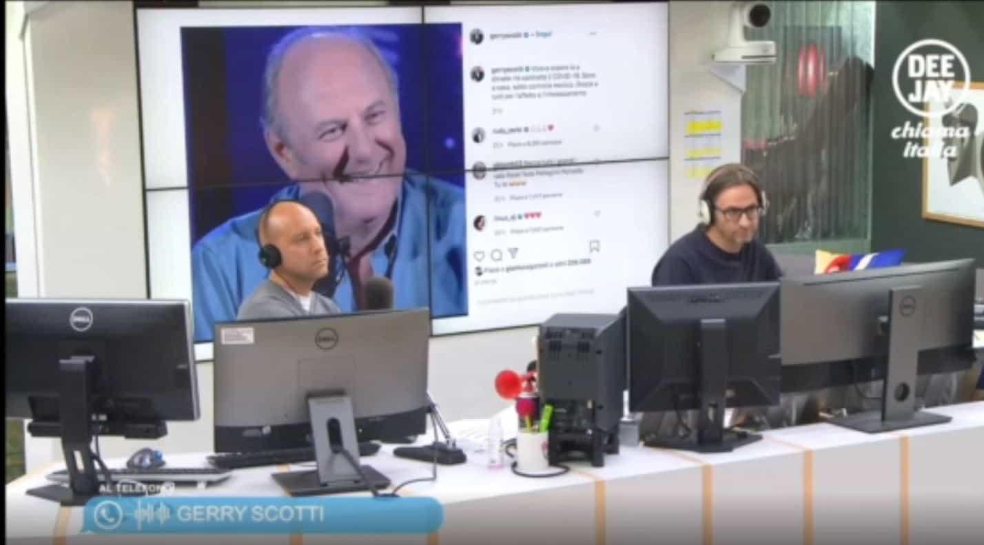 Mara Maionchi dimessa dall'ospedale, Gerry Scotti chiama i radio: tosse forte ma si combatte