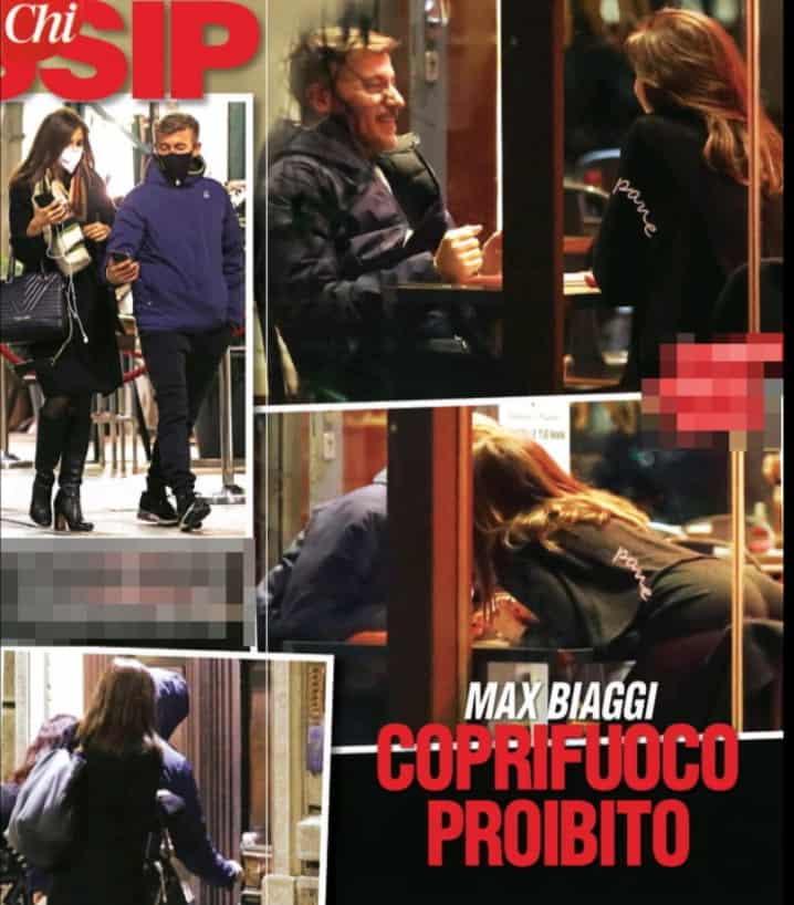 Max Biaggi e Francesca Semenza beccati sotto casa del motociclista (Foto)
