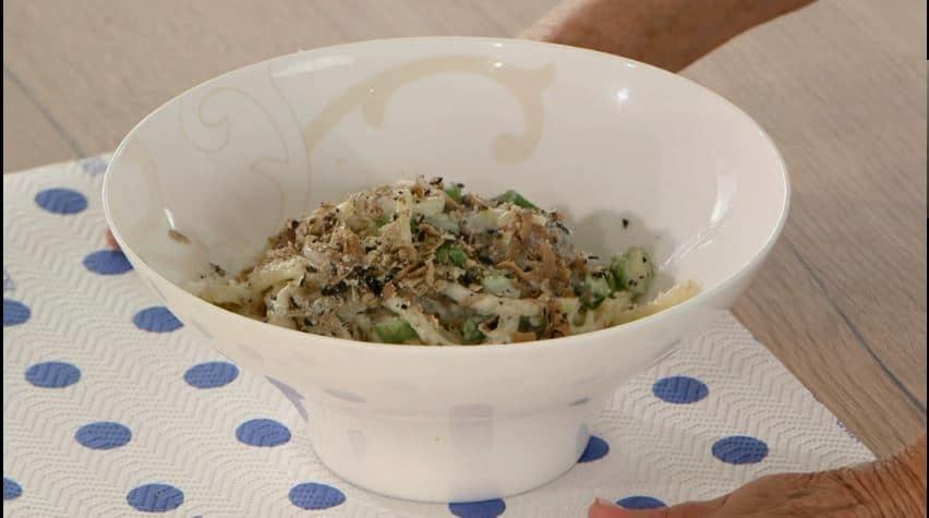 Strangozzi con fonduta di tartufo di Anna Moroni da Ricette all'Italiana
