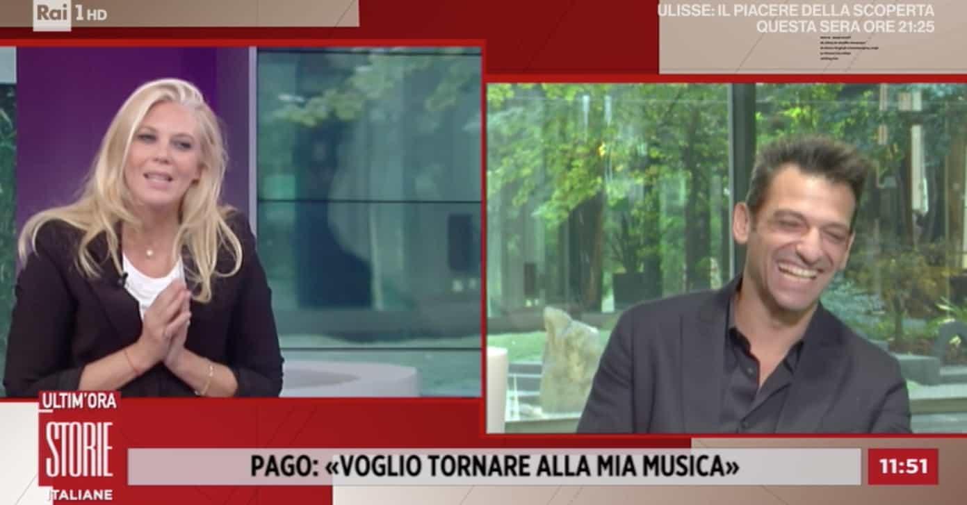 Pago single o innamorato? A Storie Italiane la risposta del vincitore di Tale e Quale Show (Foto)
