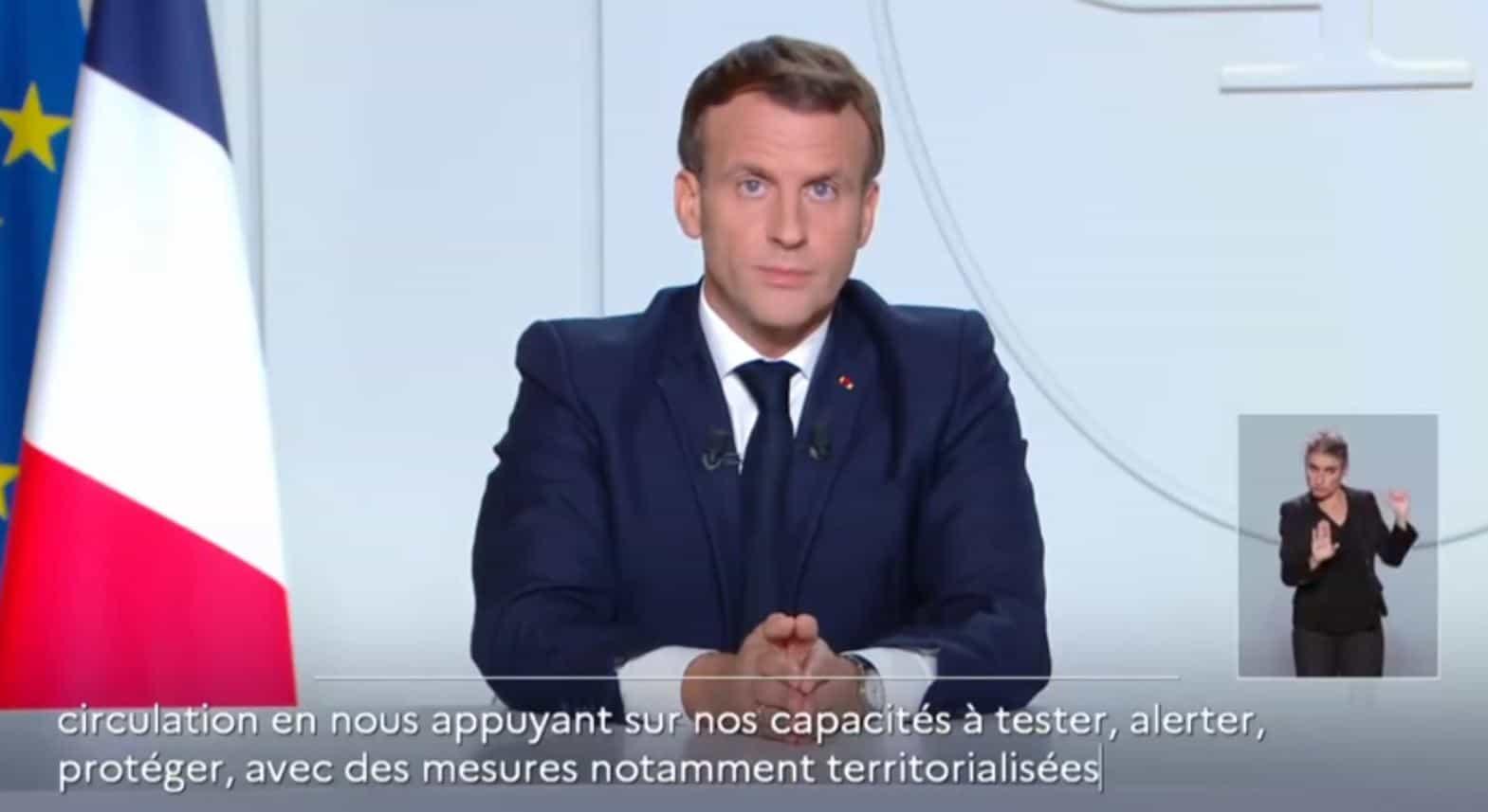 Covid 19 in Francia: la situazione attuale e le decisioni di Macron