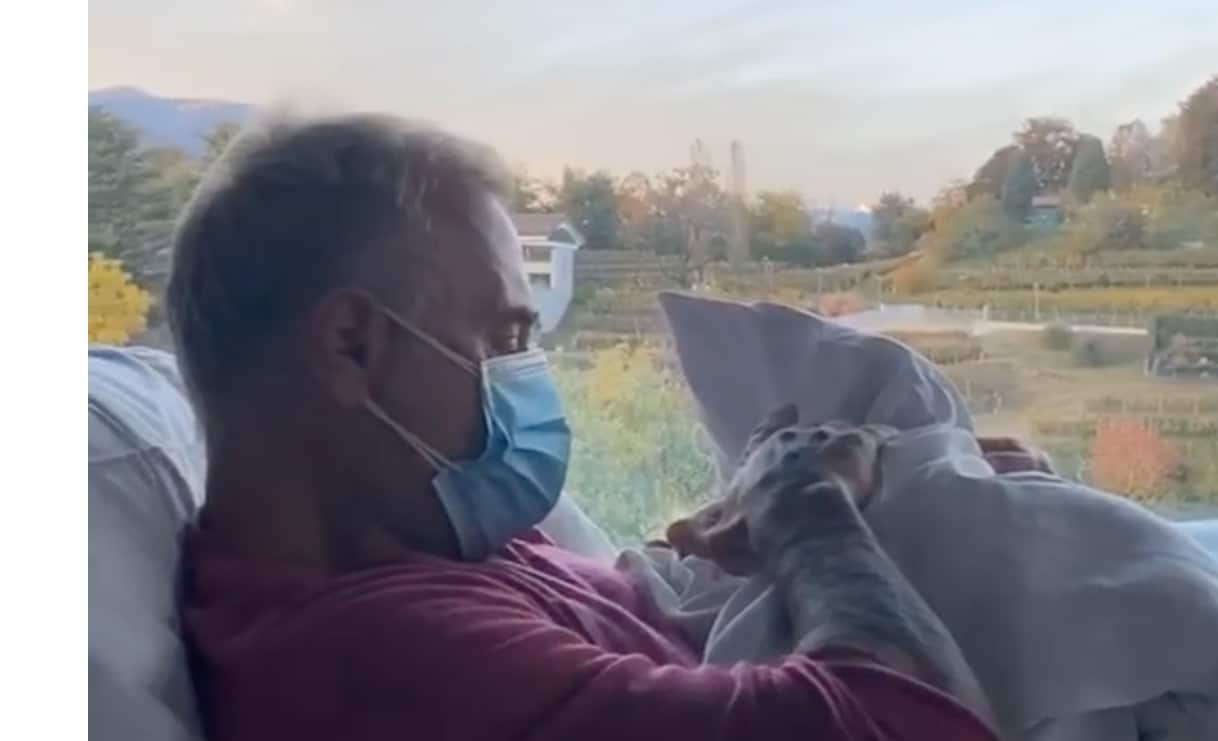 La dedica di Gianluca Vacchi a sua figlia, con il primo video Sharon è al settimo cielo (Foto)
