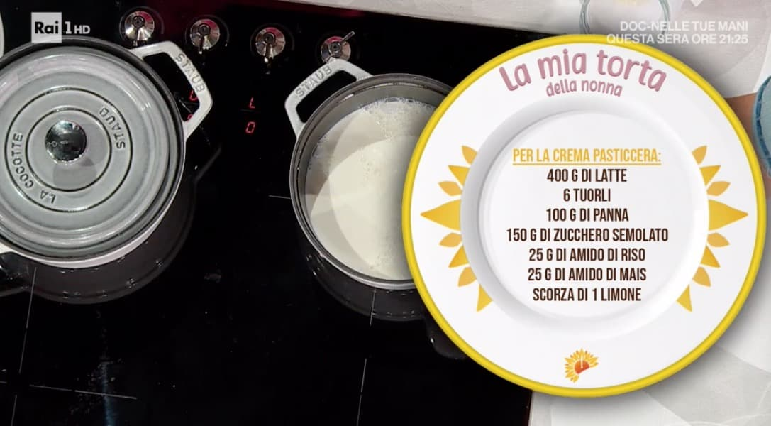 Zia Cri prepara la torta della nonna, dalle ricette dolci E' sempre mezzogiorno