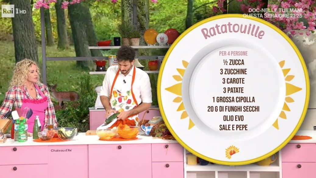 Ricette Marco Bianchi: ratatouille di verdure da E' sempre mezzogiorno