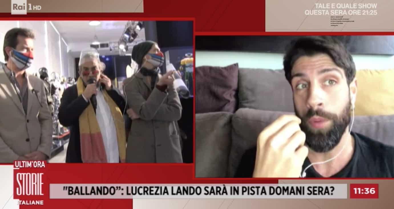 Lucrezia Lando sta ancora male, chi ballerà con Gilles Rocca? (Foto)