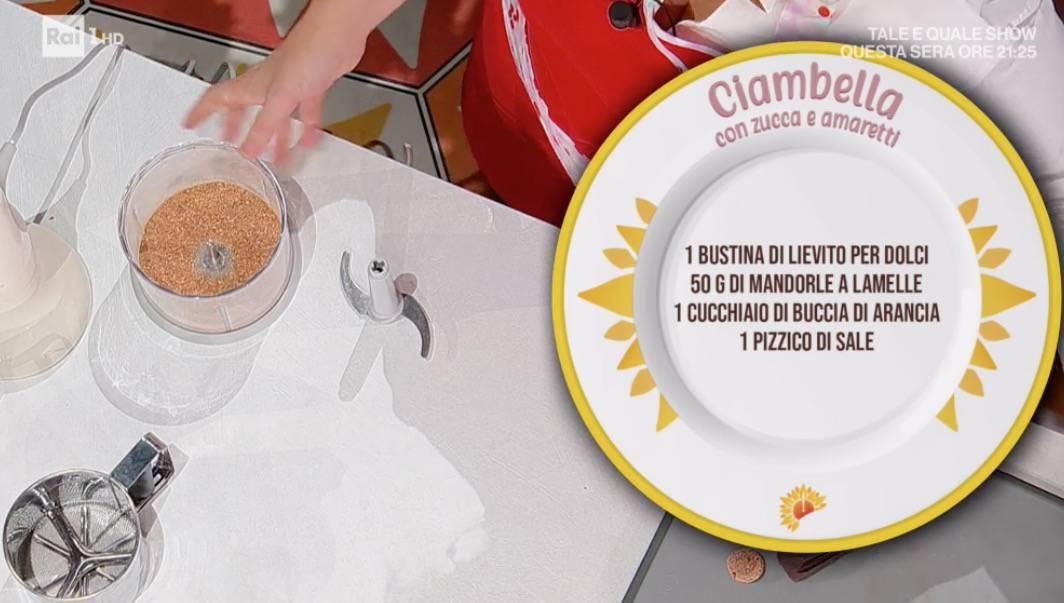 Ciambella con zucca e amaretti di Natalia Cattelani per E' sempre mezzogiorno