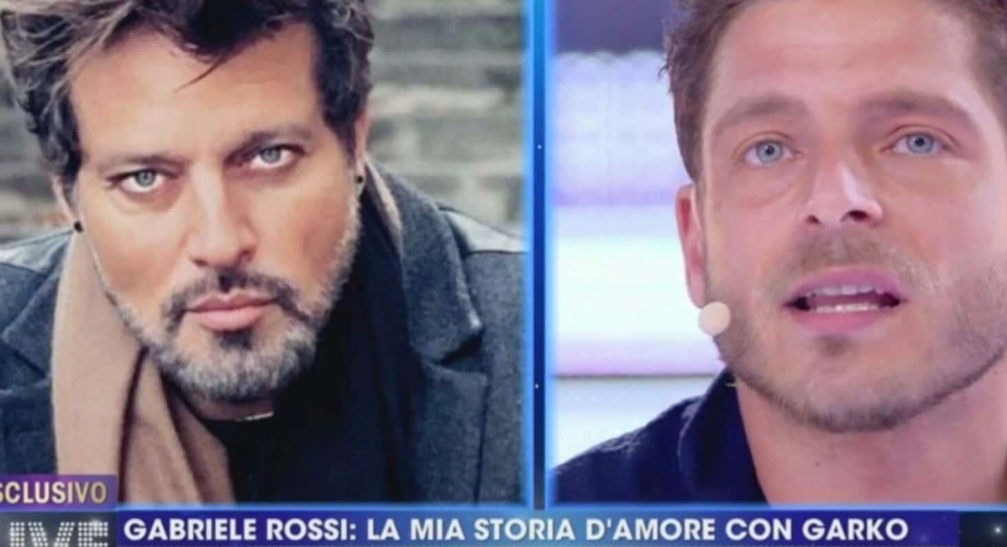 Gabriele Rossi parla per la prima volta in tv della sua storia con Gabriel Garko