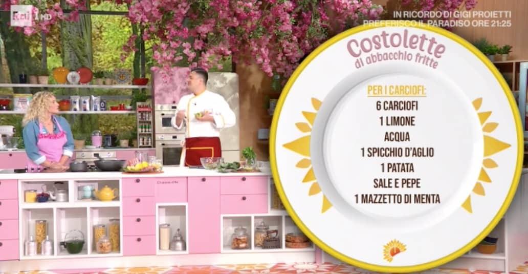 Costolette di abbacchio fritte di Simone Buzzi, la ricetta di oggi E' sempre mezzogiorno