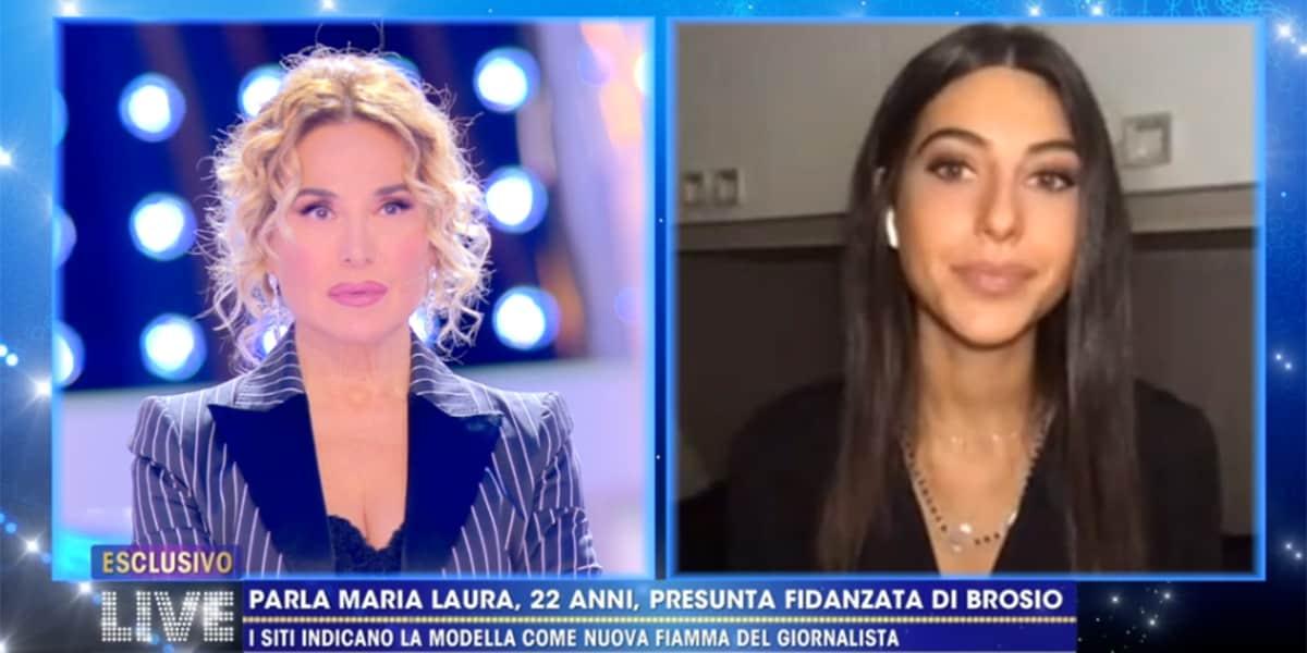 LIVE Non è la D'Urso: Maria Laura De Vitis, parla la fidanzatina di Paolo Brosio