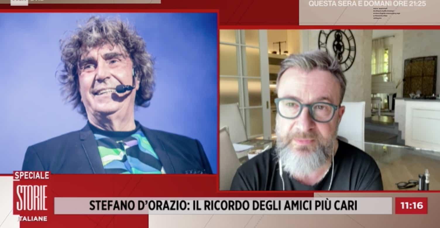 Riccardo Fogli: Stefano D'Orazio si è sentito male, Covid ed è finita (Foto)