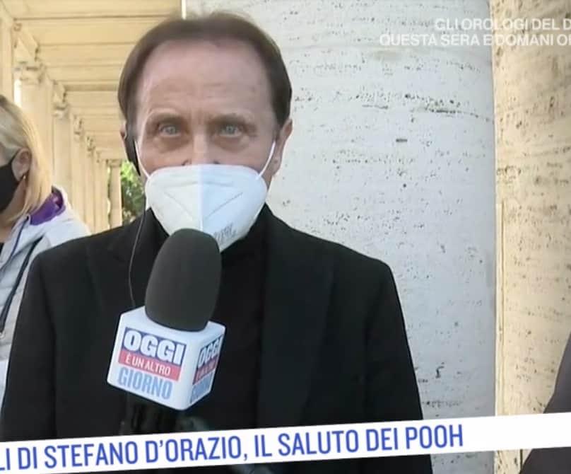 I Pooh a Roma: l'ultimo saluto a Stefano D'Orazio con i cuori che sanguinano (Foto)