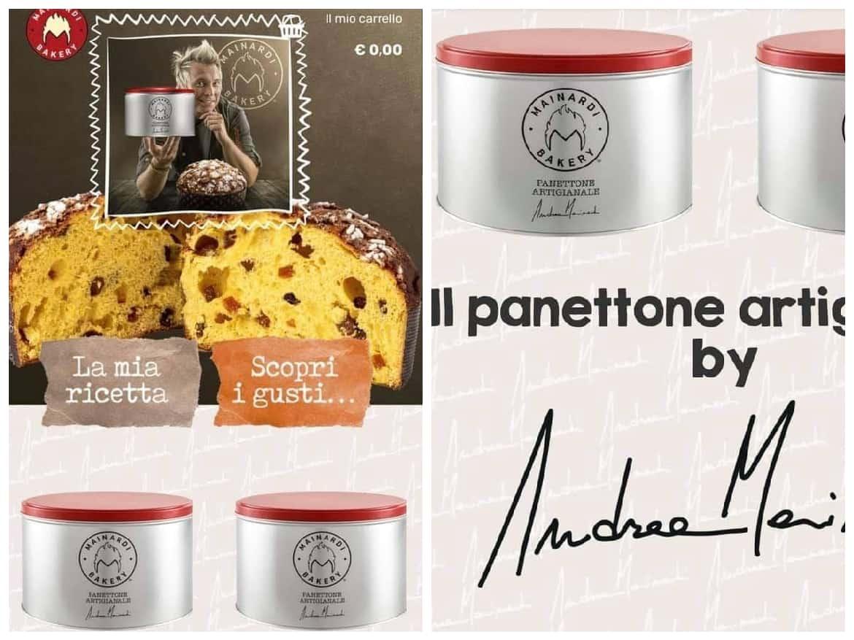 A Natale scegli un panettone firmato Andrea Mainardi: arriva direttamente a casa tua