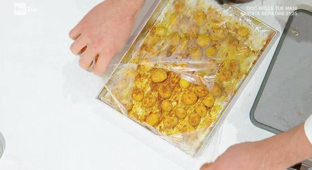 Ricetta E' sempre mezzogiorno: castagne speziate e petto di faraona al bergamotto
