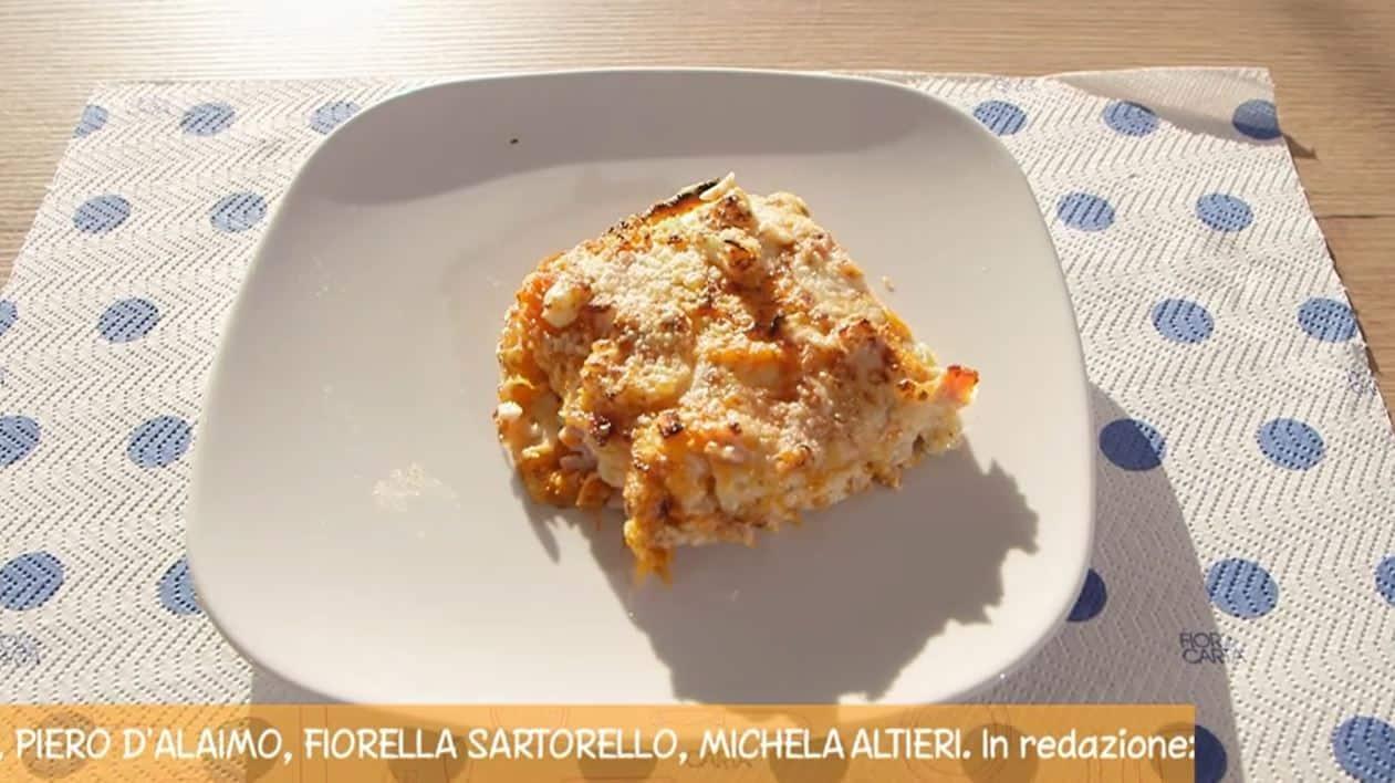 La ricetta del timballo di zucca con crespelle di Anna Moroni