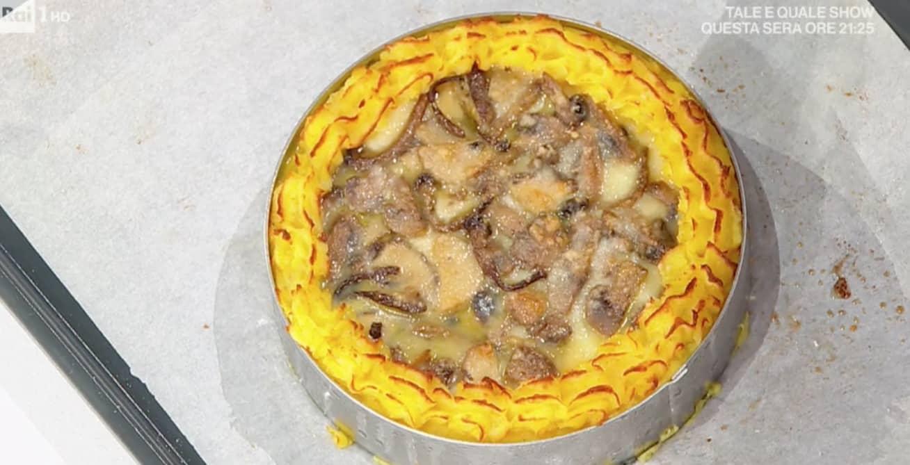Pasticcio di patate e salsizzieddi di Fabio Potenzano, ricette E' sempre mezzogiorno