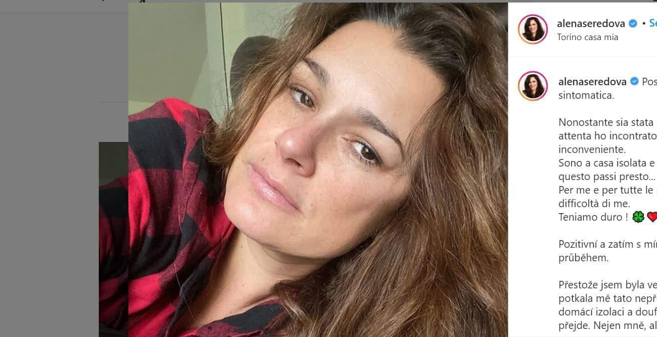 Alena Seredova positiva al covid 19: le sue parole sui social