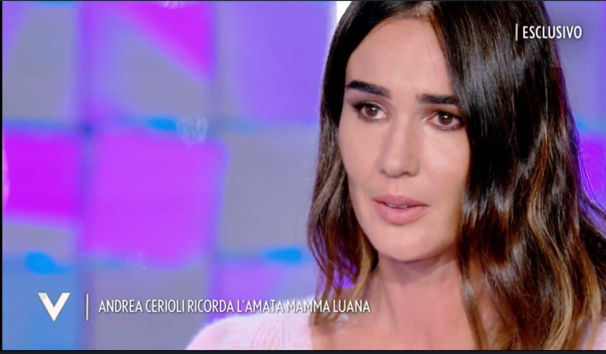 Andrea Cerioli parla della sua mamma che non c'è più e Silvia Toffanin si scioglie in lacrime