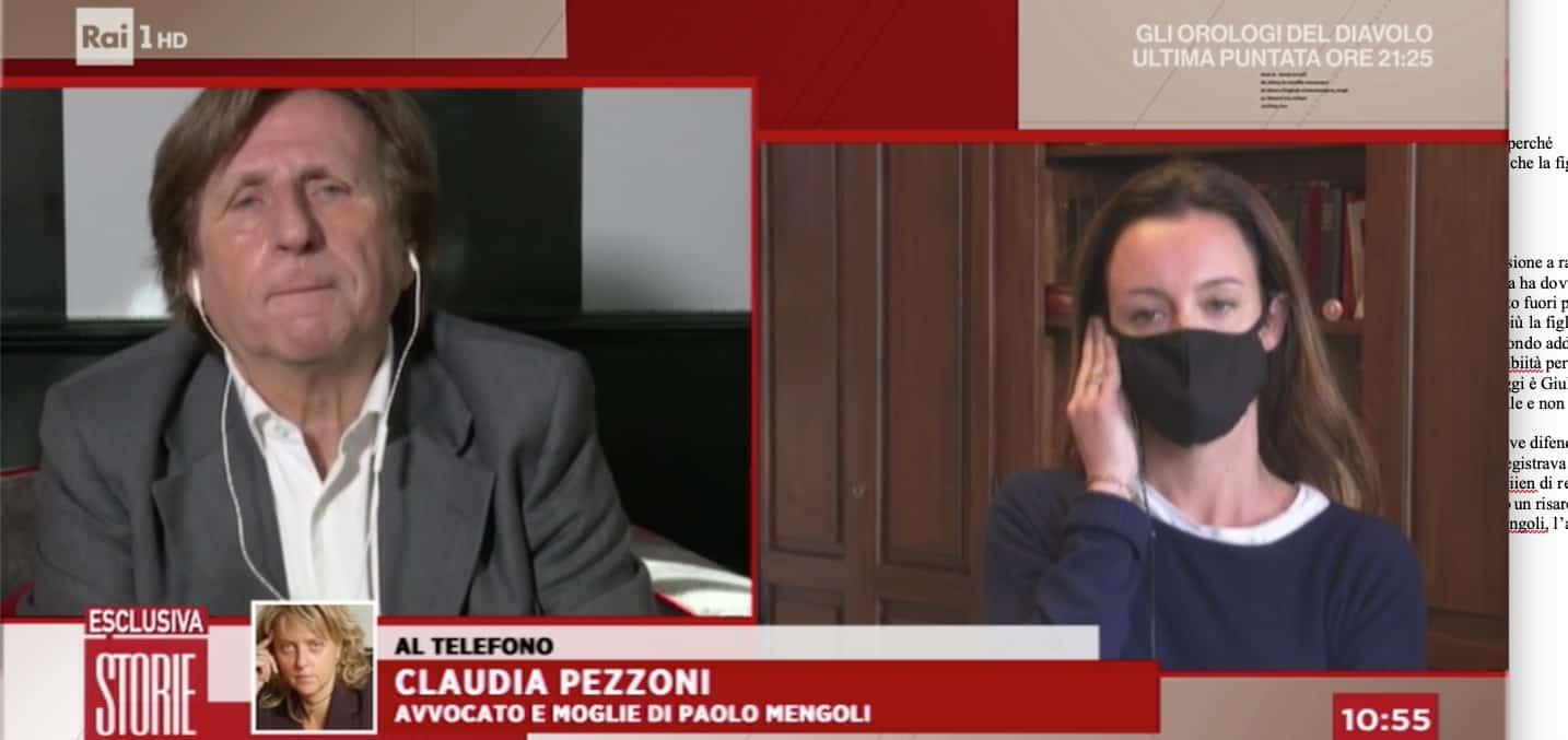 Giulia, la figlia di Paolo Mengoli dice la sua verità a Storie Italiane (Foto)