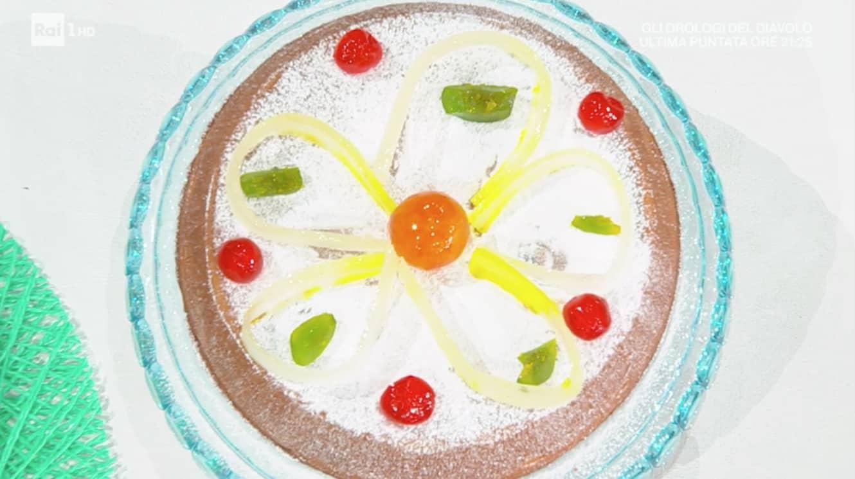 Cassata al forno E' sempre mezzogiorno, la ricetta dolce di Fabio Potenzano