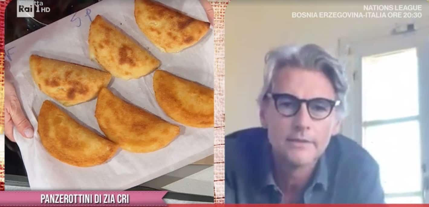 Roberto Farnesi dalla cucina di casa alla cucina di E' sempre mezzogiorno