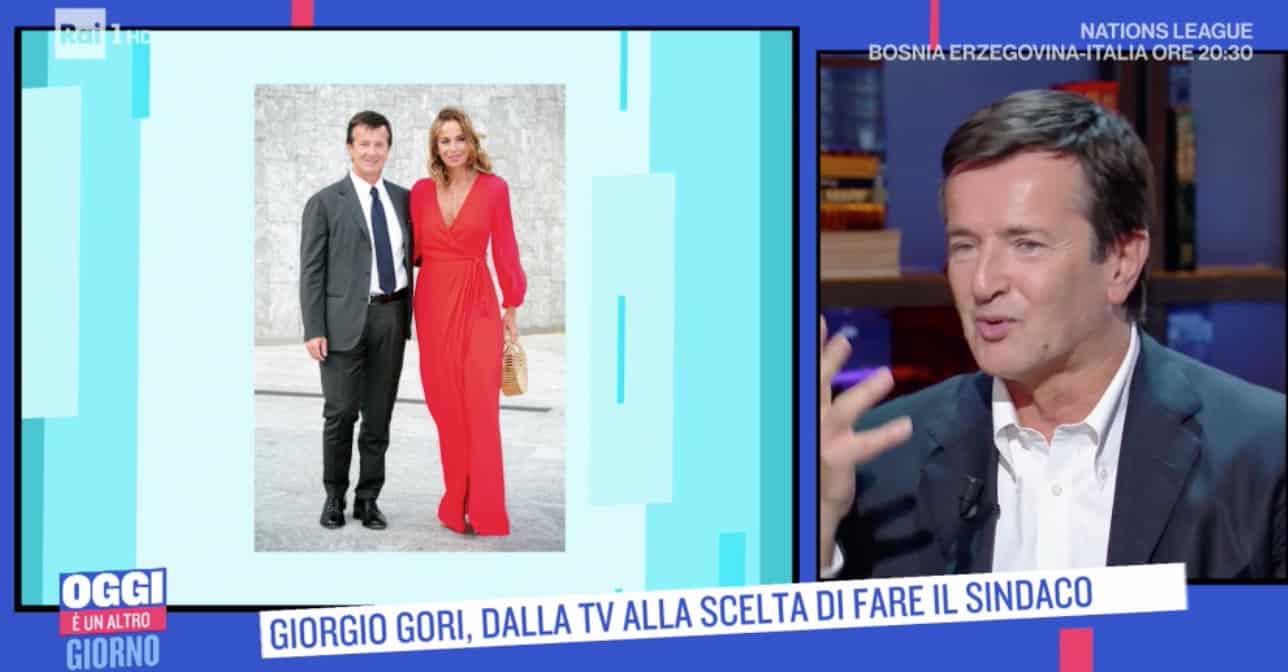 Giorgio Gori ricorda come è iniziata la storia con Cristina Parodi (Foto)