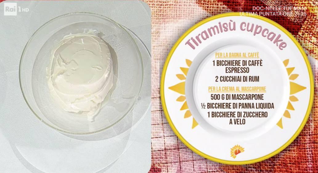 Tiramisù cupcake di Sara Brancaccio, ricette dolci E' sempre mezzogiorno