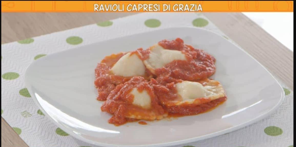 I ravioli capresi di Grazia: una ricetta di Anna Moroni