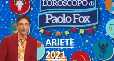 oroscopo ariete 2021