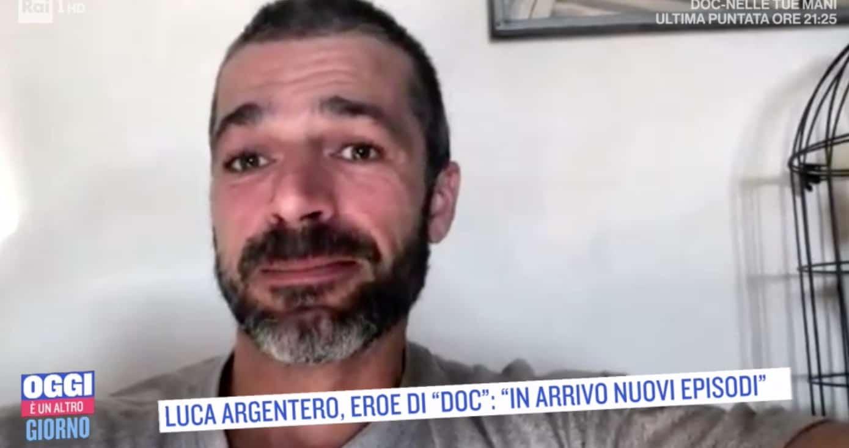 Luca Argentero e Raffaele Esposito ospiti a Oggi è un altro giorno ...