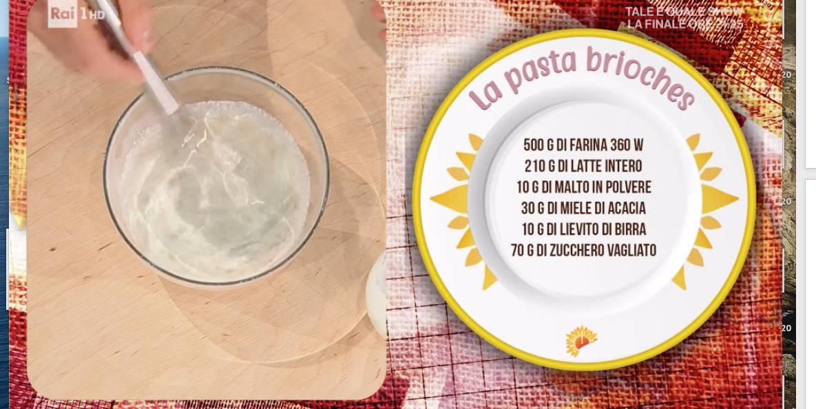 Ricetta pasta brioches di Luca Montersino, nuova lezione da E' sempre mezzogiorno