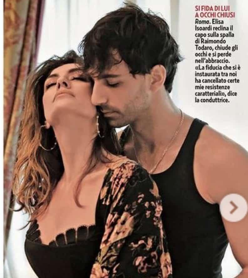 Elisa Isoardi e Raimondo Todaro svelano la loro promessa valida fino alla finale di Ballando con le Stelle (Foto)