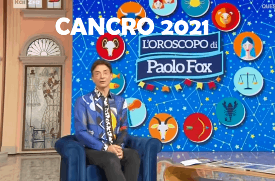 paolo fox cancro 2021