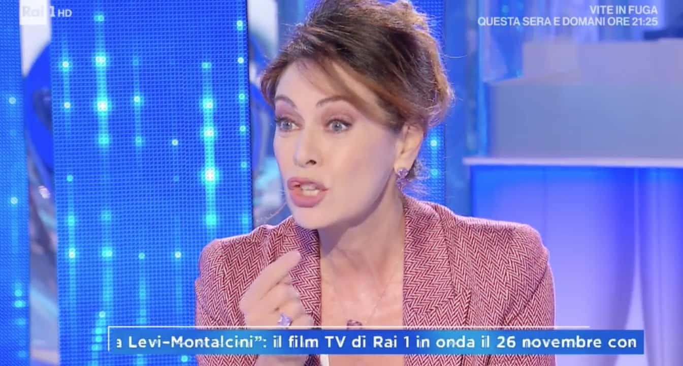 """Elena Sofia Ricci si rivolge ai giovani: """"Guardate Rita Levi Montalcini giovedì sera"""""""