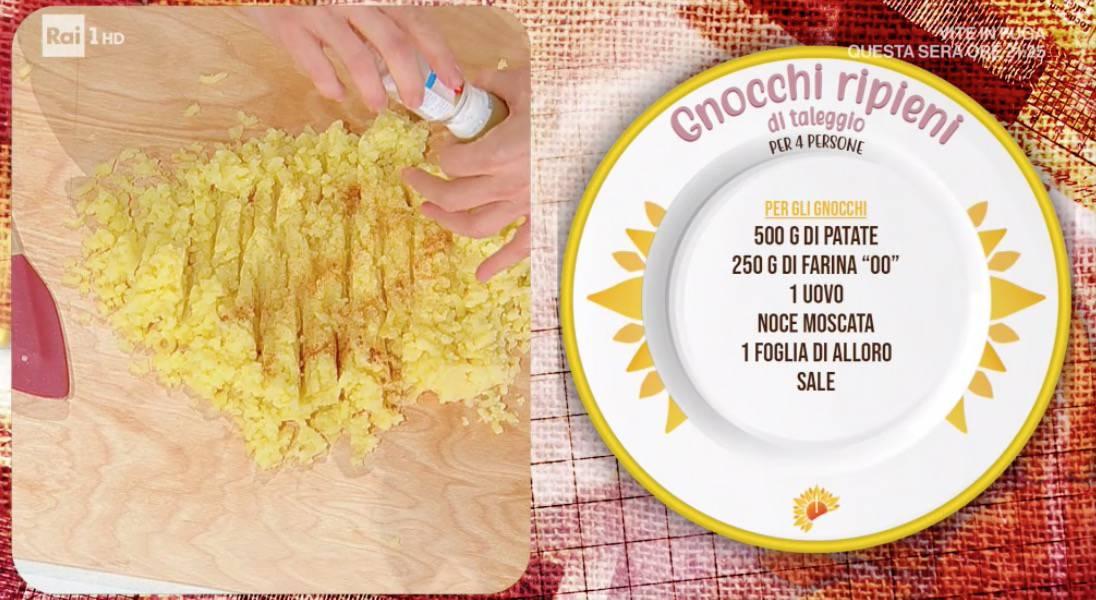 Gnocchi ripieni di formaggio, la ricetta di Francesca Marsetti per E' sempre mezzogiorno (Foto)