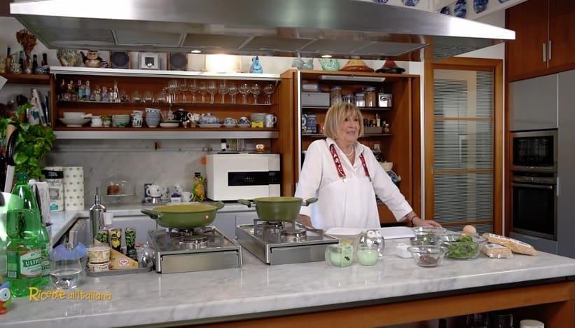 Anna Moroni sostituita da uno chef della Prova del cuoco nella cucina di Ricette all'italiana (Foto)