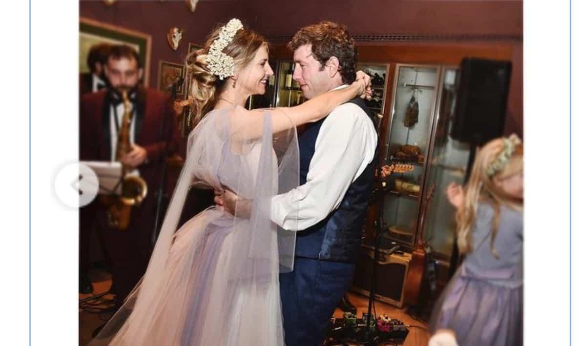 Nicoletta Romanoff festeggia il primo anniversario di matrimonio (Foto)
