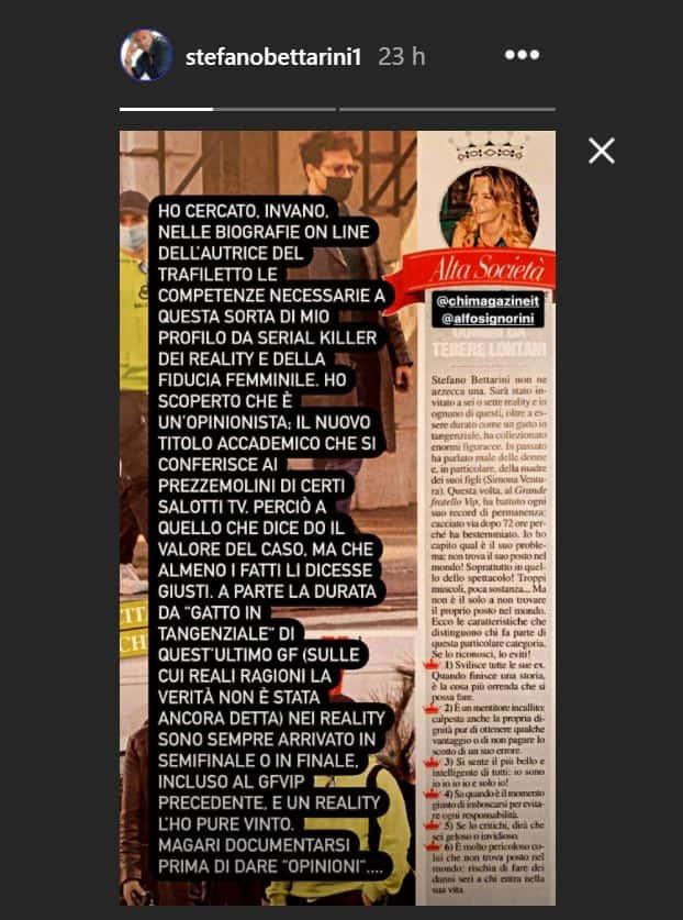 Stefano Bettarini infuriato si difende dalle accuse e parte una denuncia