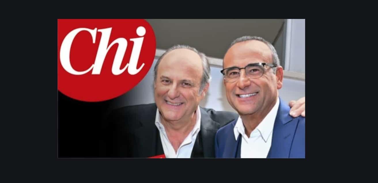 Il momento peggiore per Carlo Conti e Gerry Scotti in ospedale, lo raccontano su Chi (Foto)