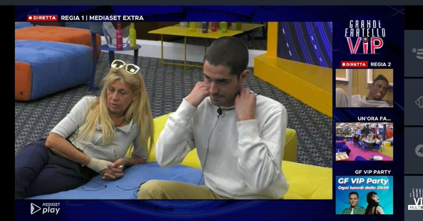"""Tommaso Zorzi prova a spiegare a Francesco perchè si sente abbandonato : """"E' una fobia"""""""