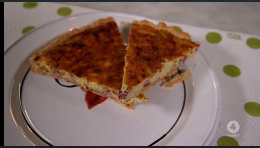 Quiche con speck e zucchine: una ricetta di Anna Moroni
