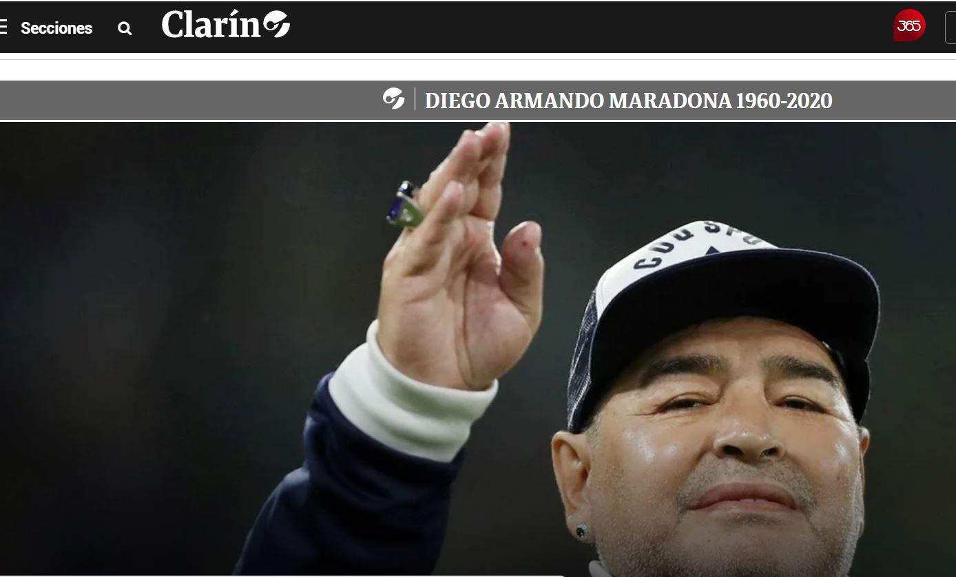 E' morto Diego Armando Maradona, le ultime notizie dall'Argentina