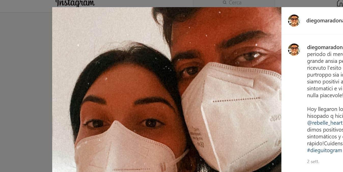 E' morto Maradona: Diego Armando Junior in ospedale per il covid 19 apprende la notizia shock