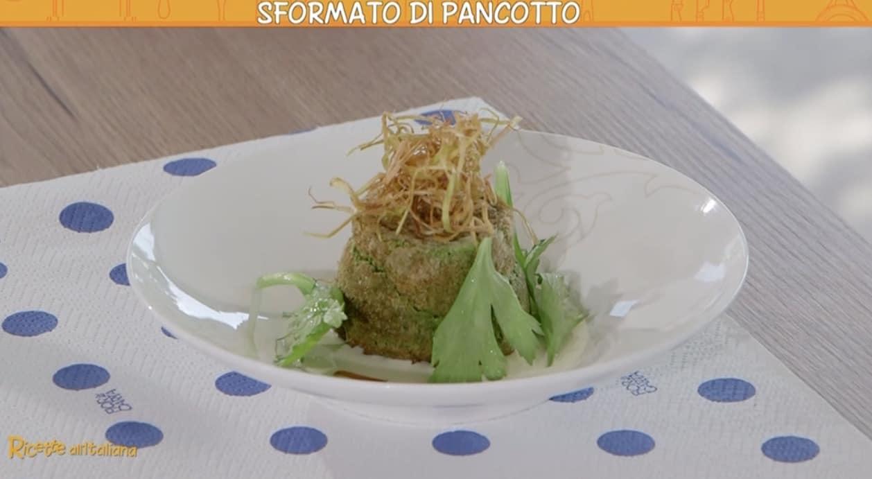 Marco Bottega: lo sformato di pancotto per Ricette all'italiana