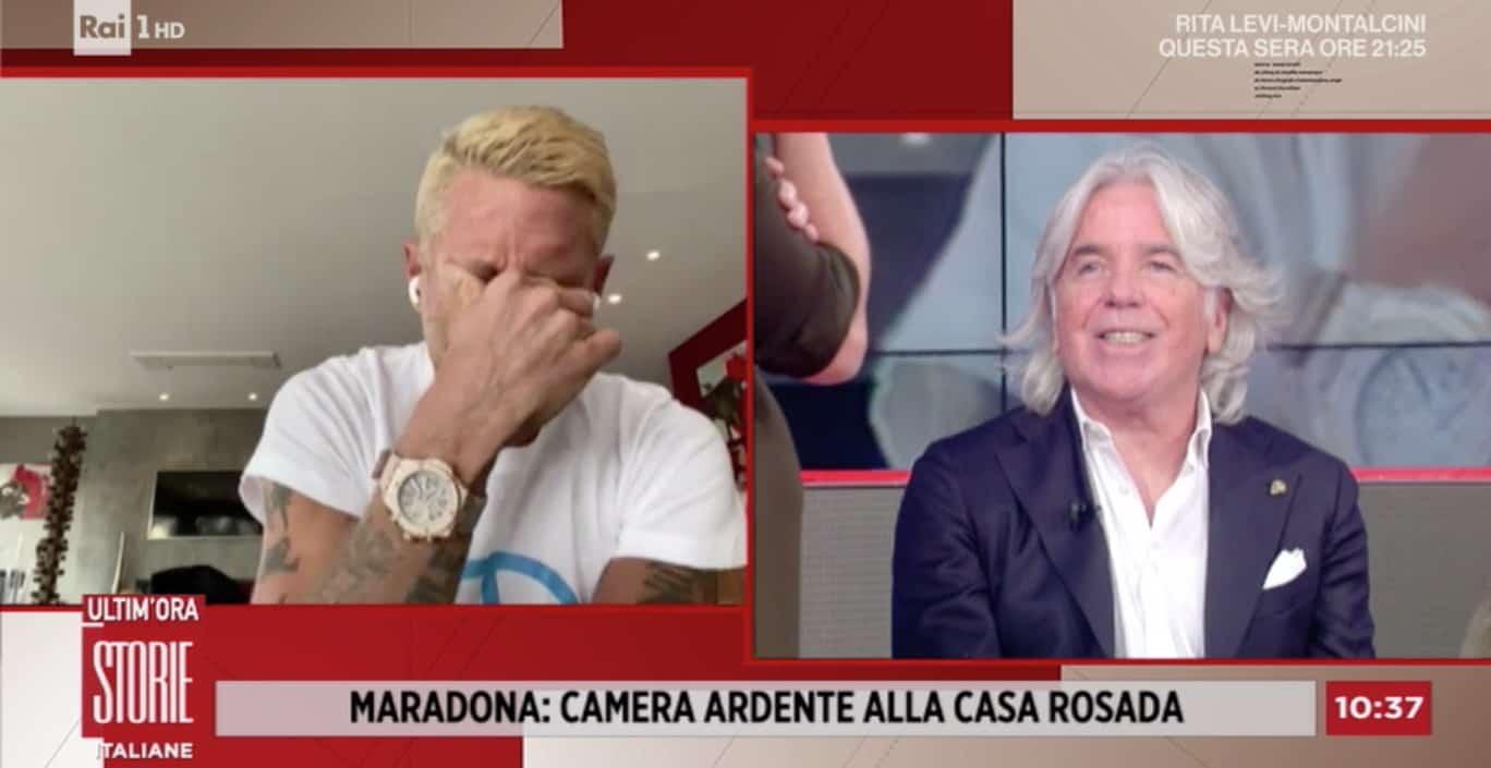 """Lapo Elkann il dolore immenso per Maradona: """"In lui rivedo me"""" (Foto)"""