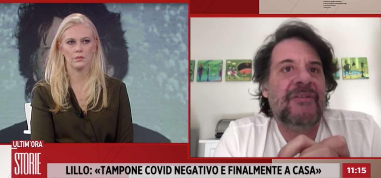 Lillo Petrolo quasi un mese in ospedale, racconta i tre giorni in terapia intensiva