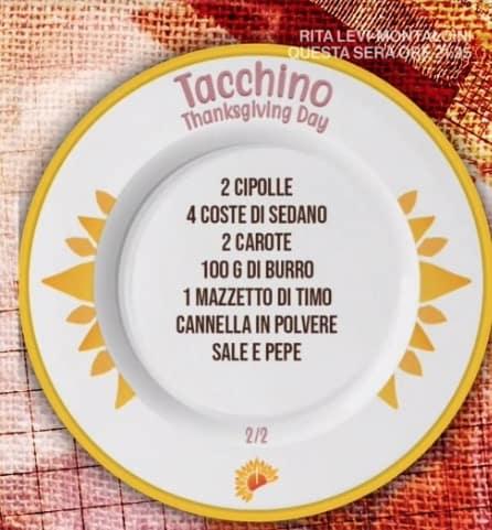 Tacchino ripieno di Daniele Persegani e zia Cri: ricette E' sempre mezzogiorno