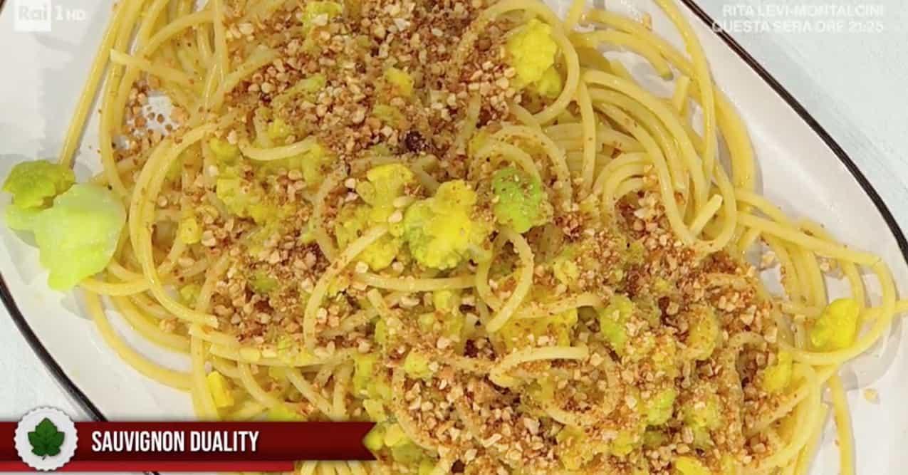 Ricette E' sempre mezzogiorno: bucatini con broccoli arriminati di Fabio Potenzano